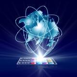 Intelligent teknologibegrepp för affär Royaltyfria Bilder