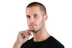 Intelligent Young Man Royalty Free Stock Image