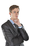 Intelligent young man Stock Photography