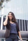 intelligente asiatische Geschäftsdame lizenzfreies stockbild
