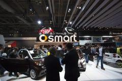 Intelligente Autoausstellung bei Autoshow 2010 Lizenzfreie Stockfotografie