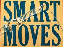 Intelligente Bewegungen Lizenzfreies Stockfoto