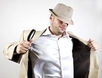 Intelligente detective Stock Afbeeldingen