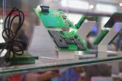 Intelligente elektronische Schablone Stockfoto