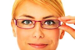 Intelligente Frau Lizenzfreie Stockfotos