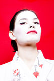 Intelligente Geisha Lizenzfreies Stockbild
