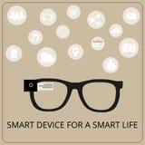 Intelligente Gläser Lizenzfreies Stockfoto