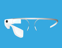 Intelligente Gläser Stockbild