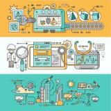 Intelligente Innovations-Technologie stock abbildung