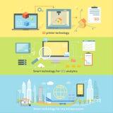 Intelligente Innovationstechnologie des Konzeptes vektor abbildung