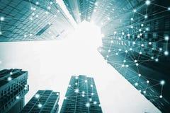 Intelligente Stadt und Internet von Sachen