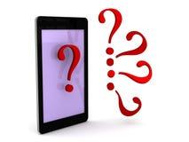 Intelligente Telefon-Unterstützung Lizenzfreies Stockbild