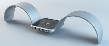 Intelligente Uhr Lizenzfreies Stockfoto