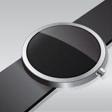 Intelligente Uhr der elektronischen Intelligenz Auch im corel abgehobenen Betrag Lizenzfreies Stockbild
