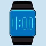 Intelligente Uhr lokalisiert Stockfotografie