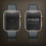 Intelligente Uhr zwei Lizenzfreie Stockbilder