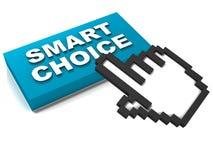 Intelligente Wahl Lizenzfreie Stockbilder