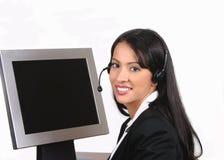 Intelligenter Bediener Stockfotos