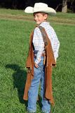 Intelligenter Cowboy Stockbilder