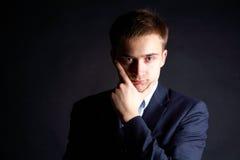 Intelligenter Fachmann Stockfoto