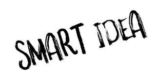 Intelligenter Ideenstempel lizenzfreie abbildung