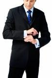Intelligenter Kleidungsmann Lizenzfreie Stockfotografie