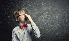 Intelligenter Schüler Lizenzfreies Stockbild