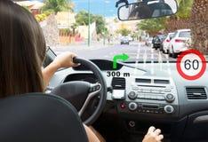 Intelligentes Auto-Konzept Stockfotos