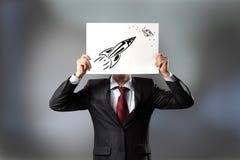 Intelligentes Denken Lizenzfreies Stockfoto