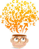 Intelligentes Kind Lizenzfreies Stockbild