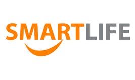 Intelligentes Leben Logo Emblem Lizenzfreie Stockfotos