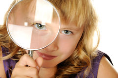 Intelligentes Mädchen Stockfoto