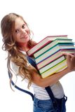 Intelligentes Mädchen Stockbilder