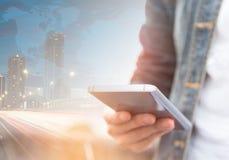 Intelligentes Mobiltelefon Stockbilder