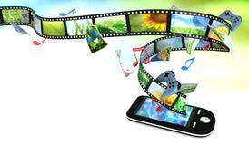 Intelligentes Telefon Lizenzfreie Stockfotografie