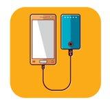Intelligentes Telefon Lizenzfreie Stockfotos