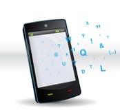 Intelligentes Telefon ABC Lizenzfreies Stockfoto