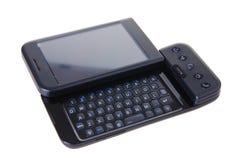Intelligentes Telefon in der Nahaufnahme stockbild