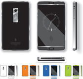 Intelligentes Telefon-Design Stockfotografie