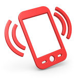 Intelligentes Telefonsymbol vektor abbildung