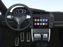 Intelligentes Touch Screen Multimediasystem für Automobil Stockbilder