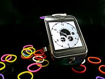 Intelligentes Uhr wacht lizenzfreie stockbilder