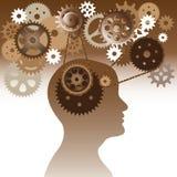 Intelligentiehersenen Royalty-vrije Stock Afbeelding