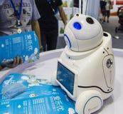 Intelligentierobot in de innovatie en de ondernemerschapsmarkt van Chengdu van 2016 Royalty-vrije Stock Afbeeldingen