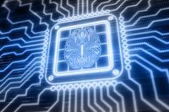Intelligenza artificiale royalty illustrazione gratis