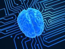 Intelligenza artificiale Fotografia Stock Libera da Diritti