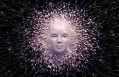 Intelligenza artificiale Fotografia Stock