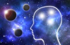 Intelligenza e creatività umane illustrazione di stock