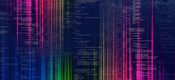 Intelligenztechnologiehintergrund vektor abbildung