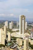 Intempo大厦在贝尼多姆 免版税库存图片